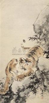 猛虎 (tiger) by lin yushan
