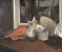 still life with pitcher by donald apellebe smith