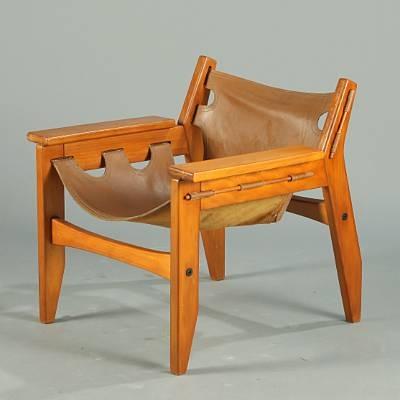 Kilin Armchair By Sergio Rodrigues