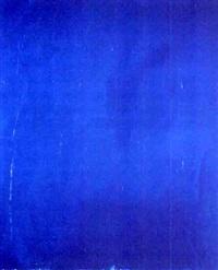 komposition in blau by thom argauer