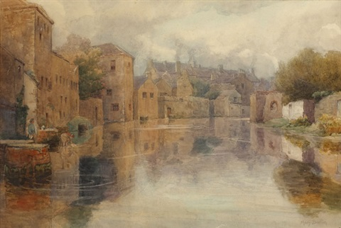 sligo canal by mary georgina barton