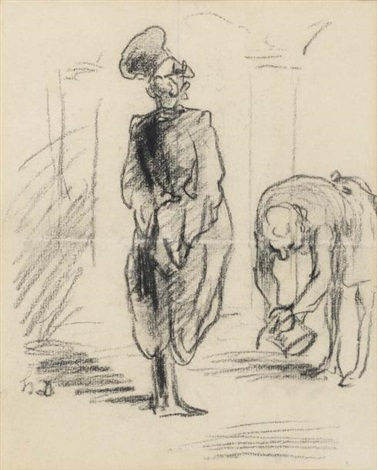 hommage au magistrat by honoré daumier