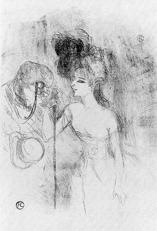 Anna Held et Baldy by Henri de Toulouse-Lautrec on artnet