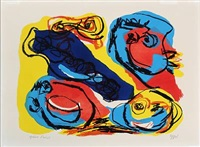 composition by karel appel