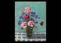 flower in the vase by iwao uchida