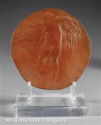 six figures from greek mythology,, low- by leonard baskin
