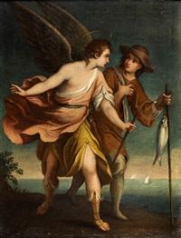 tobias mit dem engel by anonymous-italian