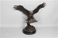 bald eagle by s. koop