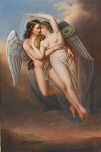 amor (+ psyche; pair) by eduard steinbruck