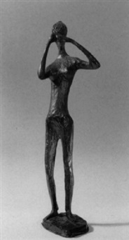 stehender weiblicher akt by ursula förster