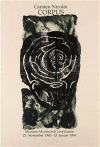 ohne titel (labyrinthkopf) by carsten nicolai