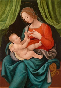 madonna mit kind by mariotto albertinelli