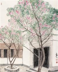 landscape by xu huaxiang