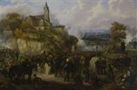 die schlacht bei souffelweyersheim im elsaß am 28. juni 1815 by johanes baptiste pflug
