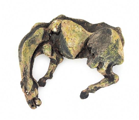 cavallo sdraiato by agenore fabbri