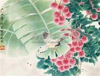 荔枝小鸟 by deng bai