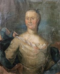 porträtt föreställande sofia root by jöns pilo