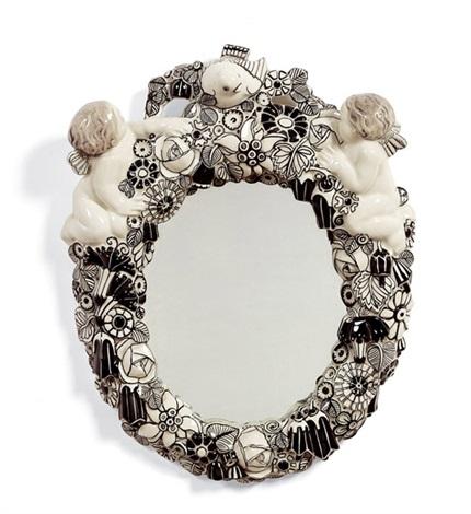 Spiegelrahmen mit spiegel by michael powolny on artnet - Spiegel mit spiegelrahmen ...