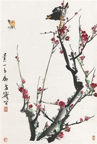 报春图 by wang xuetao