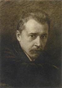 William Unger - william-unger-bildnis---hugo-wolf