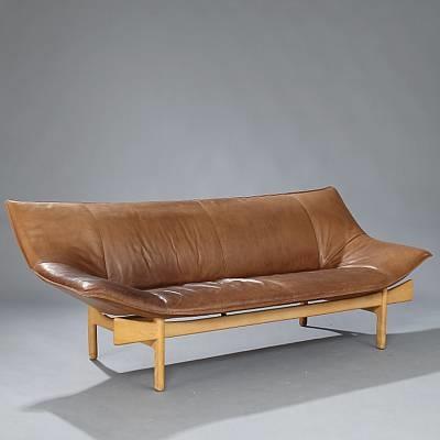 sculptural shaped sofa model l 84 by om design