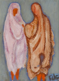 female figures by arie alweil
