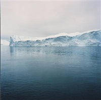 inuit-panoramas series, ice mountains (4 work) by markus bühler-rasom