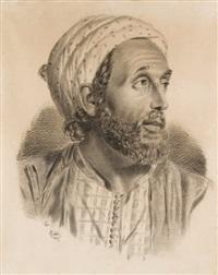 portrait d'oriental by leon enard