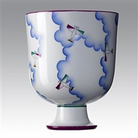 alato vase by richard ginori and gio ponti