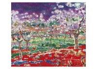 pechers en fleur by yoshio aoyama