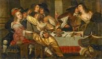 gesellschaft im interieur by anthonie palamedesz