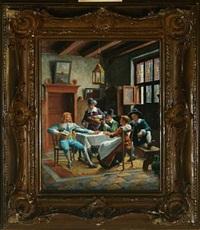 interior by wilhelm giessel