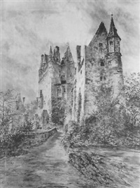 burg eltz by bernhard k. j. mannfeld