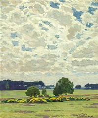 landschaft bei zehlendorf by robert kämmerer