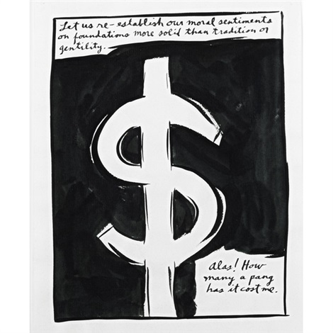 untitled 3 works by raymond pettibon
