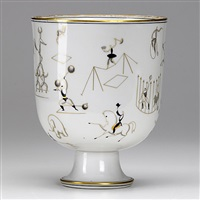 il circo vase by richard ginori and gio ponti