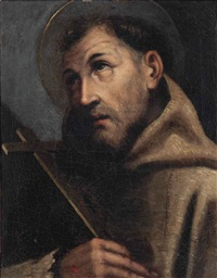 saint francis of assisi by carlo dolci