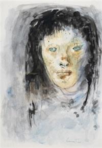 cabeza de mujer by leonor fini