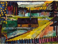 lichtung by andre alexeyevich jawlensky