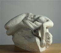 nudo di donna sdraiata by emilio ambron
