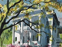 stanton hall, natchez, mississippi by francis wenderoth saunders