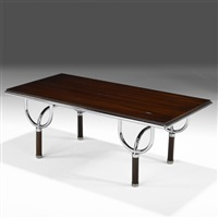 coffee table (no. tri-6) by roberto gabetti