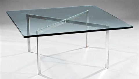 Mies Van Der Rohe For Knoll Barcelona Table By Ludwig Mies Van Der Rohe