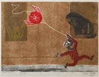 el muro negro (+ calle, lrgr; 2 works) by francisco amighetti