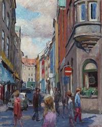 street, copenhagen by victor brockdorff