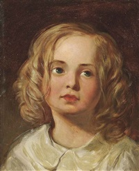 wistful child by james sant
