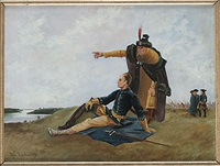 konung carl xii och mazeppa by august sedelin
