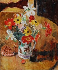 still life with flowers by sigurd swane