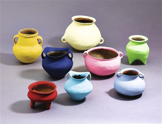 Coloured Vases Nine Works By Ai Weiwei On Artnet