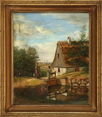 farm idyll by christian jens c thorrestrup